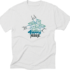 Mappy hour tee- white