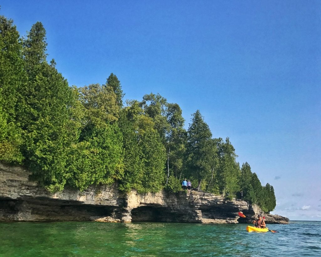 Kayaking, Door County, Wisconsin