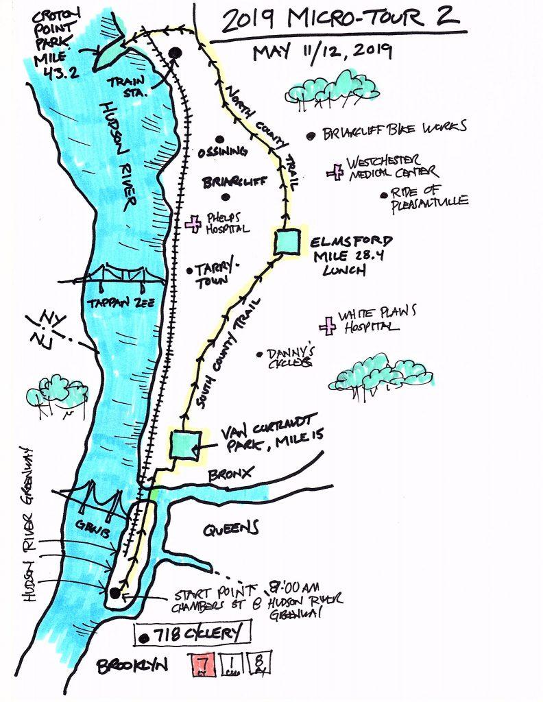 Micro Tour Map