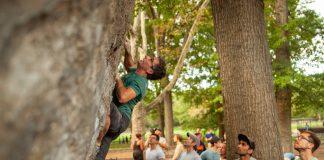 Cedar Wright Climbing in NYC