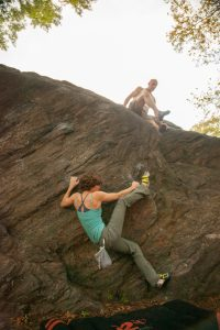 Climbing in Central Park by Savannah McCauley