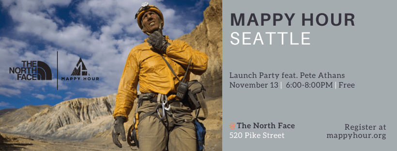 Mappy Hour Seattle Launch Event