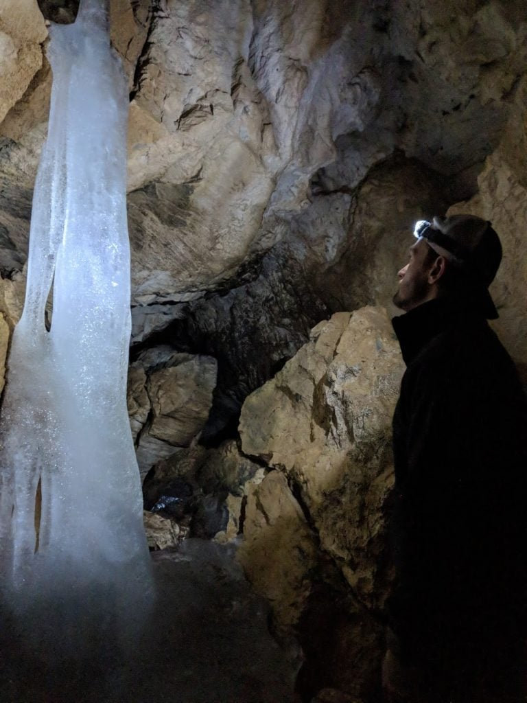Caving in Colorado