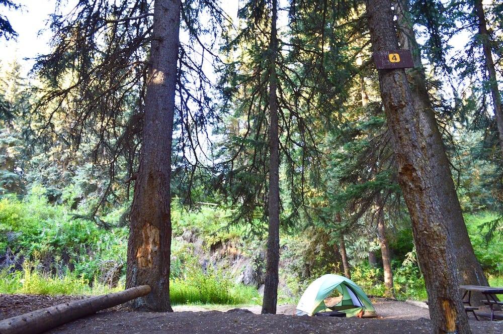 Camping near Seattle