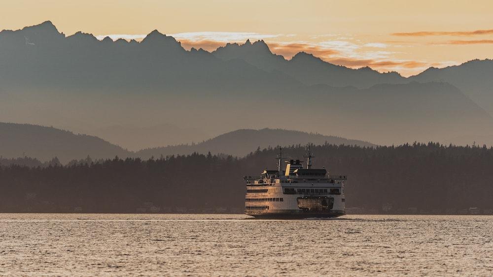 Ferry near Seattle
