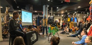 Mappy Hour at The North Face