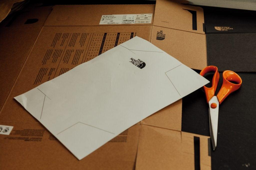 Cardboard Wallet Template IMG_0675