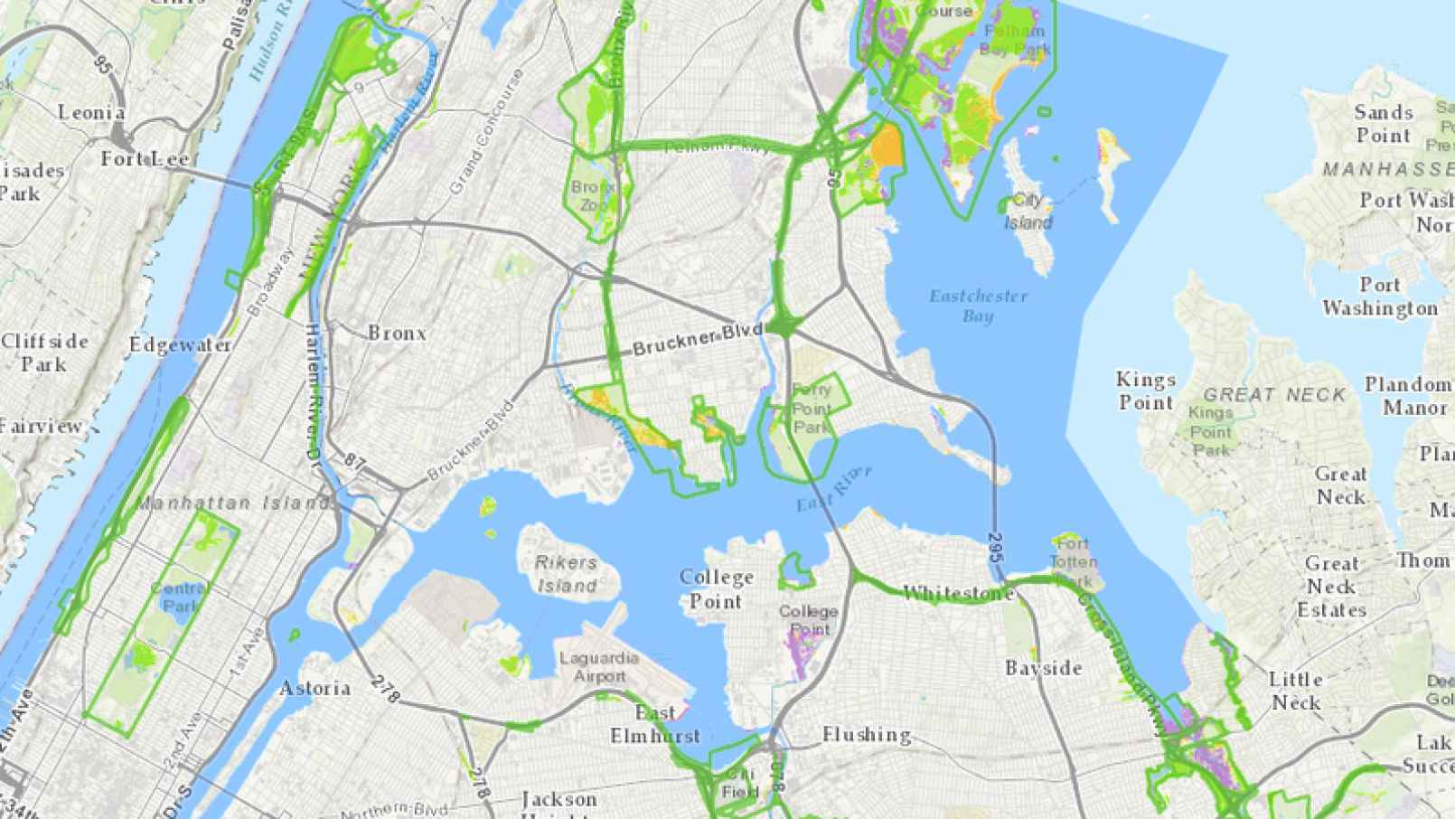 Astoria Nyc Map.Rescheduled Mapping Nyc With The Natural Areas Conservancy Mappy Hour